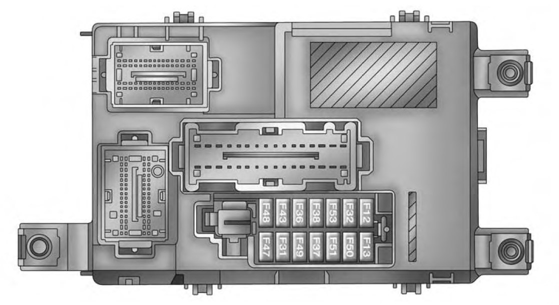 Ram Promaster City  2015  - Fuse Box Diagram