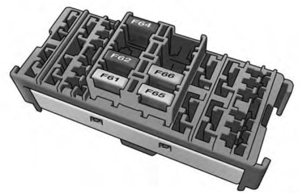 Ram Promaster  2014  - Fuse Box Diagram