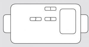 Acura TL - fuse box - abs