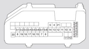 acura tsx 2009 fuse box diagram auto genius. Black Bedroom Furniture Sets. Home Design Ideas