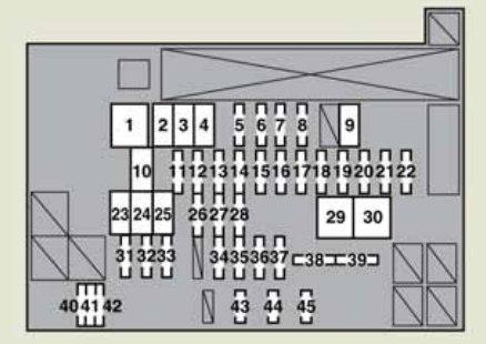 lexus ct200h (2011) - fuse box diagram - auto genius lexus ct200h fuse box