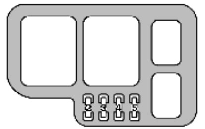 lexus es300 (2000 – 2001) – fuse box diagram