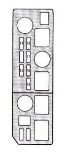 Lexus ES250 - fuse box - engine compartment