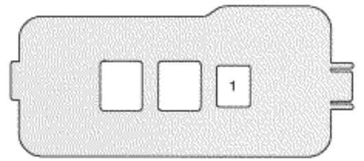 Lexus ES300 (1997) - fuse box diagram - Auto Genius