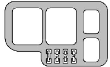 lexus es300 1999 fuse box diagram auto genius. Black Bedroom Furniture Sets. Home Design Ideas