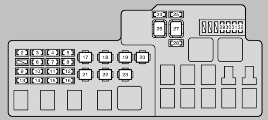 2002 Lexus Es300 Fuse Box Diagram. Wiring Diagram Images Database ...: lexus is200 fuse box diagram at negarled.com
