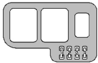 Lexus ES300 (1998) - fuse box diagram - Auto GeniusAuto Genius