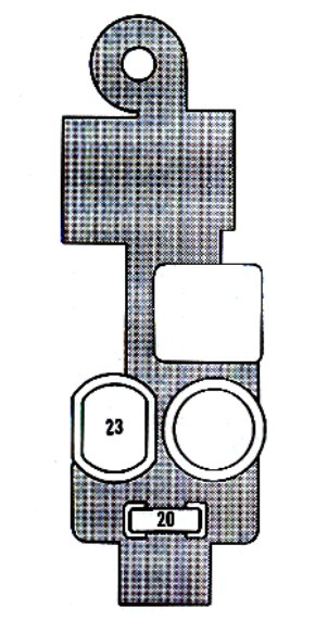 Lexus ES250 (1990 - 1991) - fuse box diagram - Auto Genius