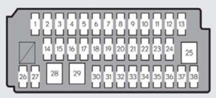 [SCHEMATICS_48YU]  Lexus ES330 (2013) - fuse box diagram - Auto Genius | Lexus Es330 Fuse Box Location |  | Auto Genius