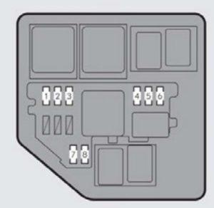 lexus es350  2013  fuse box diagram auto genius