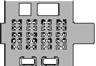 Lexus GS300 (1998 - 2000) - fuse box diagram - Auto GeniusAuto Genius