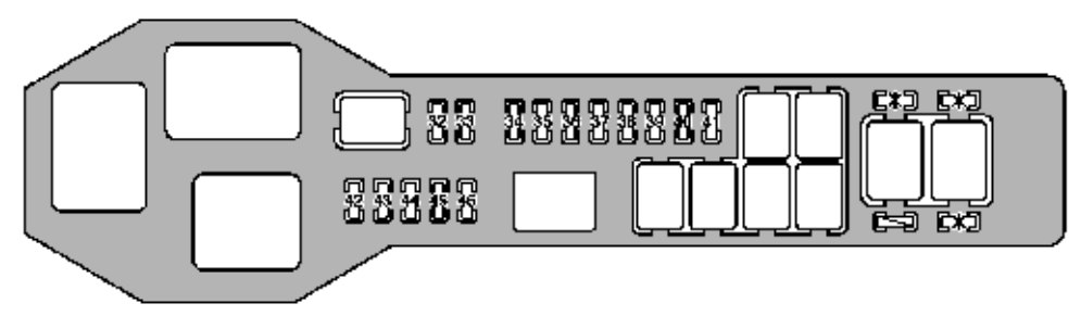 Lexus Gs400  1998 - 2000  - Fuse Box Diagram