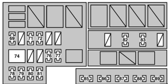 Lexus GS430 2006 fuse box diagram – Lexus Gs430 Engine Diagram