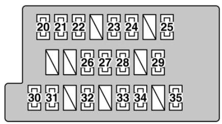 lexus gs430 (2006) - fuse box diagram - auto genius  auto genius