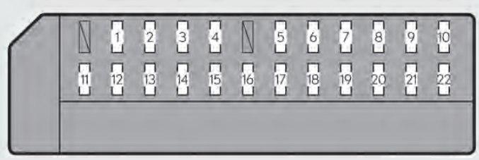 lexus gs350 2013 2014 fuse box diagram auto genius. Black Bedroom Furniture Sets. Home Design Ideas
