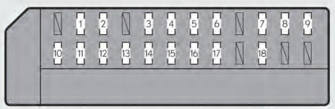 lexus gs350 fuse box passengers instrument panel 2013 lexus gs350 (2013 2014) fuse box diagram auto genius  at n-0.co