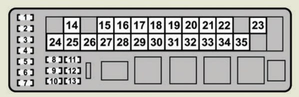 Lexus GS430 2007 fuse box diagram – Lexus Gs430 Engine Diagram