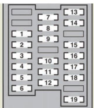 lexus gs450h (2007) fuse box diagram auto genius Lexus IS 300 Fuse Box lexus gs450h fuse box passenger\u0027s side instrument panel
