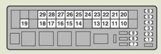 lexus is220d 2011 2013 fuse box diagram auto genius. Black Bedroom Furniture Sets. Home Design Ideas