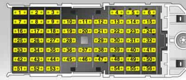 Schema Elettrico Autoradio Opel Meriva : Opel meriva a  bezpieczniki schemat auto