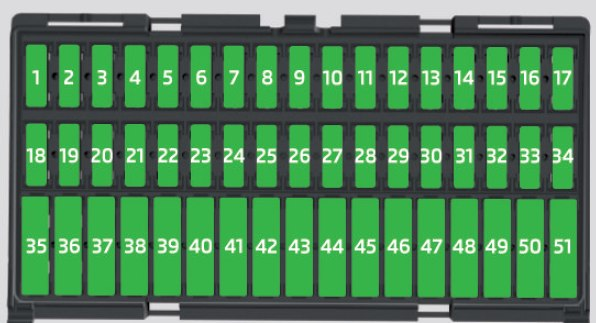 Skoda Citigo 2016 Fuse Box Diagram Auto Genius