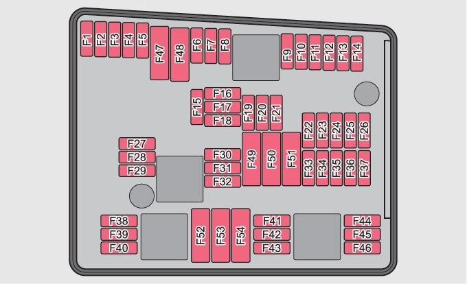 Skoda Yeti Fuse Box Engine Compartment Version