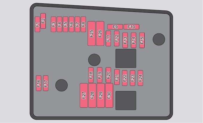 skoda yeti  2012   u2013 fuse box diagram