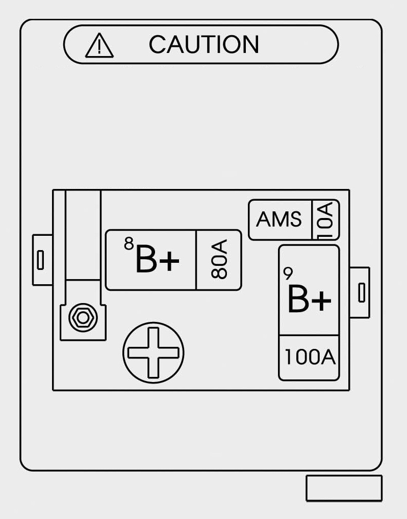 Hyundai Genesis 2015 2016 Fuse Box Diagram Auto Genius Trunk Battery