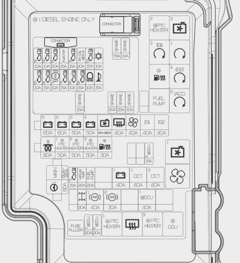 2012 hyundai sonata fuse box diagram lighter  hyundai