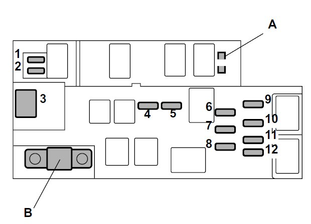 Subaru Legacy  2004  - Fuse Box Diagram