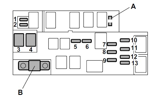 Subaru Outback  2004   U2013 Fuse Box Diagram