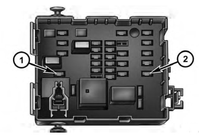 dodge journey  fuse box diagram auto genius
