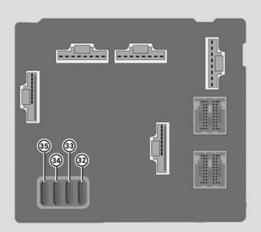 Smart Fortwo (2011) - fuse box diagram - Auto GeniusAuto Genius