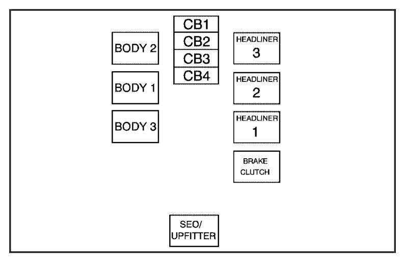Chevrolet Suburban  2007  - Fuse Box Diagram