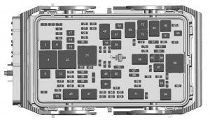 Chevrolet    Malibu     2017   fuse box    diagram     Auto Genius