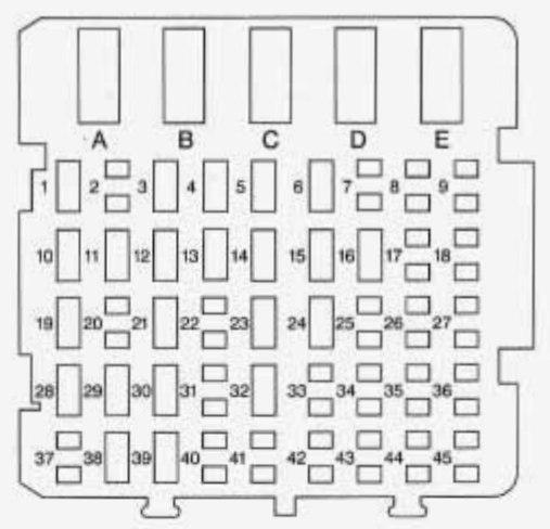 1996 Chevy S10 Fuse Box Diagram Daytime Drl Schematic Diagrams. 1996 Chevy S10 Fuse Box Diagram Daytime Drl Circuit Symbols \u2022 Mercury Sable. Wiring. 1996 Sable Fuse Box Diagram At Scoala.co