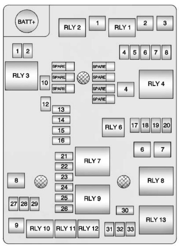 2013 dodge dart fuse box diagram