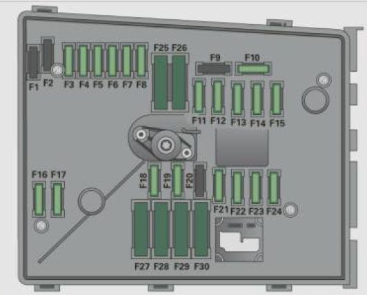 Audi A3  2011   U2013 Fuse Box Diagram