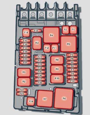 audi a3 engine bay fuse box  | 300 x 225