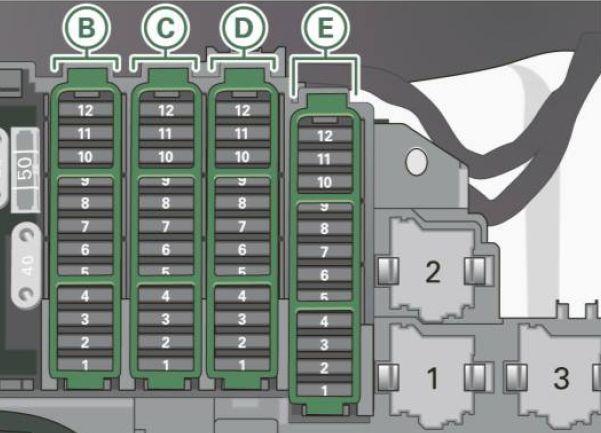 Audi S4 (2011 - 2012) - fuse box diagram - Auto GeniusAuto Genius