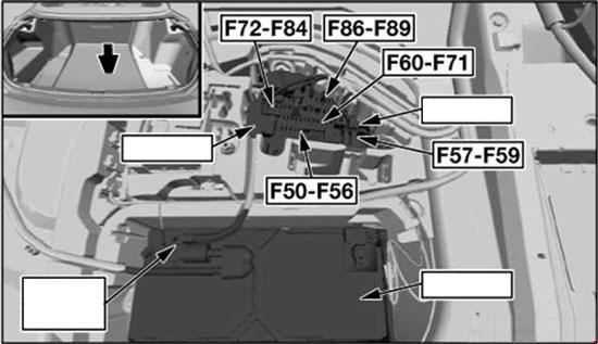 bmw 6 series e63 e64 2004 2010 fuse box diagram. Black Bedroom Furniture Sets. Home Design Ideas