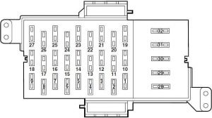 04 ford crown victoria fuse diagram wiring diagram portal u2022 rh graphiko co 2003 Crown Victoria Fuse Diagram 2002 Crown Victoria Fuse Box Diagram