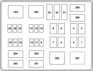 f550 fuse box diagram 2005 ford f-550 (2002 - 2007) - fuse box diagram - auto genius 04 f550 fuse box