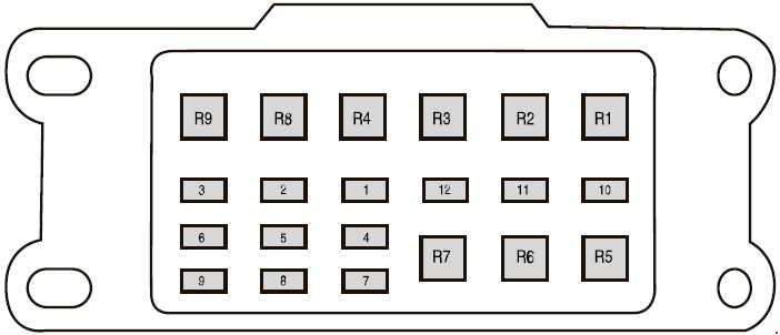 Ford Ranger T6 (2011 - 2018) - fuse box diagram - Auto Genius on ranger key, ranger relay diagram, ranger wiring diagram, ranger heater diagram,