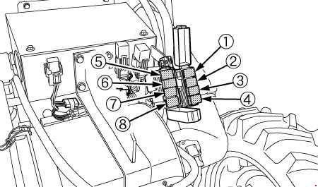 kubota m100gx m110gx m126gx m135gx fuse box diagram auto genius 2001 Nissan Sentra Fuse Box kubota m126gx m135gx fuse box diagram