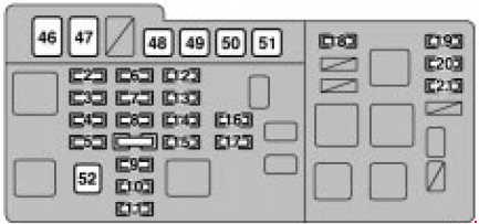 lexus rx 300 1999 2003 fuse box diagram auto genius. Black Bedroom Furniture Sets. Home Design Ideas