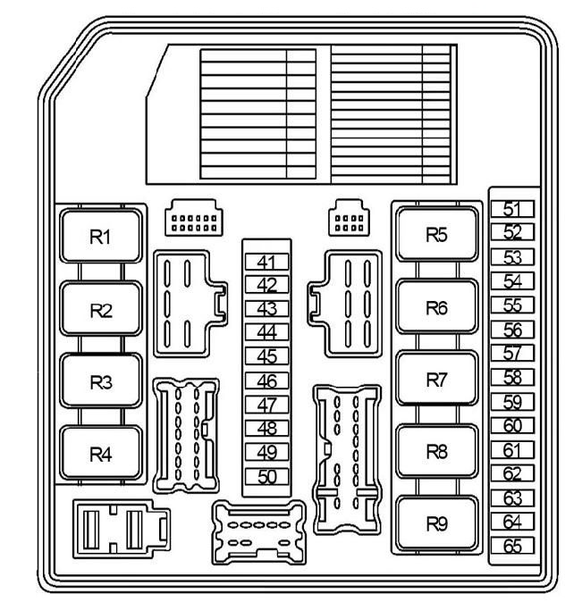 Nissan Note (2004 - 2013) - fuse box diagram - Auto GeniusAuto Genius