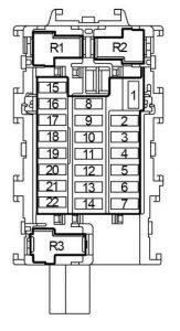 Nissan       Versa    Note  2013  2018   fuse box    diagram     Auto