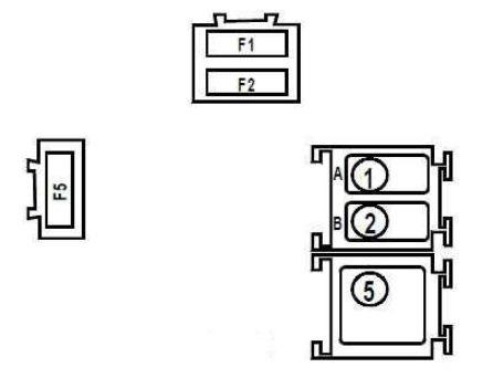 renault kangoo (1997 - 2007) - fuse box diagram - auto genius renault 4 fuse box #13