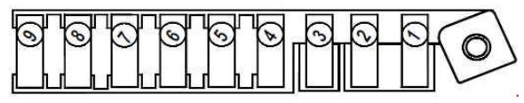 Renault Megane  2003 - 2009  - Fuse Box Diagram